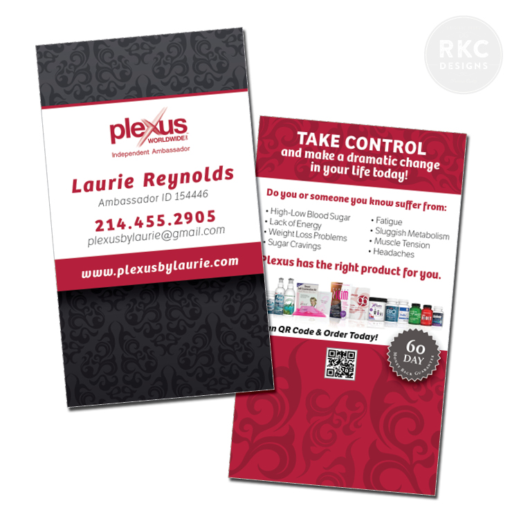 Plexus Slim Business Cards